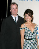 Lisa Edelstein,Michael O'Keefe Stock Photography