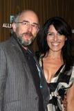 Lisa Edelstein,Richard Schiff Stock Photo
