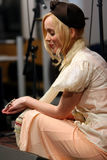 Lisa Ekdahl performs in Paris Stock Photography