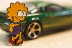 Lisa felice Fotografie Stock
