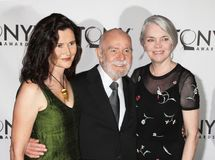 Lisa Fugard, Athol Fugard, en Sheila Fugard Royalty-vrije Stock Fotografie