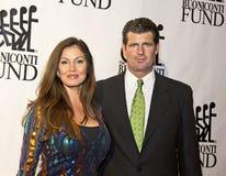 Lisa Guerrero e Scott Erickson Fotos de Stock Royalty Free
