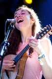 Lisa Hannigan performs at FIB Royalty Free Stock Photos