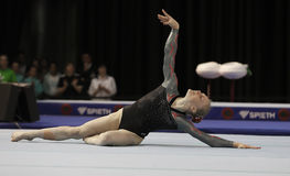 Lisa Katharina Hill. Germany's Lisa Katharina Hill during a qualifying competition for the 2012 Olympic games in London England Stock Photo