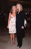 Lisa Kudrow, Jennifer Aniston, οι παραγωγοί Στοκ φωτογραφία με δικαίωμα ελεύθερης χρήσης