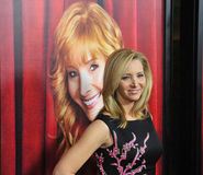 Lisa Kudrow. LOS ANGELES, CA - NOVEMBER 5, 2014: Lisa Kudrow at the premiere of her HBO TV series The Comeback at the El Capitan Theatre, Hollywood Stock Photography
