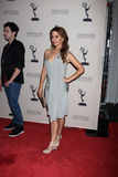 Lisa LoCicero arrives at the ATAS Daytime Emmy Awards Nominees Reception Stock Image