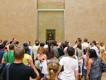 lisa louvre Mona muzeum Paris obraz royalty free