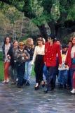 Lisa Marie, Lisa Marie Presley, Michael Jackson, Neverland foto de archivo
