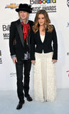 Lisa Marie Presley arrives at the 2012 Billboard Awards Royalty Free Stock Images