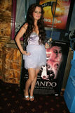 """Lisa O'Brien an der Premiere """"Brando Unauthorizeds"""" Los Angeles, majestätisches Kamm-Theater, Westwood, CA 11-09-10 Lizenzfreies Stockfoto"""