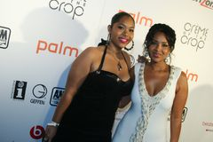 Lisa Raye and daughter Kaienja #1 Stock Image
