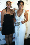 Lisa Raye and daughter Kaienja #3. Lisa Raye and daughter Kaienja attend the 2010 BET After Party at Mr. Chow's in Beverly Hills, California Royalty Free Stock Image