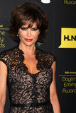 Lisa Rinna arrives at the 2012 Daytime Emmy Awards Royalty Free Stock Photography