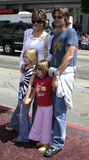 Lisa Rinna and Harry Hamlin. Hollywood - July 10, 2005 - Harry Hamlin, Lisa Rinna and Kids at the `Charlie and the Chocolate Factory` World Premiere at the Stock Image
