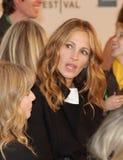Lisa Roberts Gillan e Julia Roberts Imagem de Stock Royalty Free