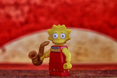 Lisa Simpson Stock Images