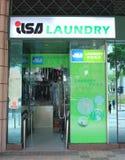 Lisa tvätteri i Hong Kong Royaltyfri Foto