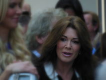 Lisa Vanderpump. Attending the unveiling of David Foster`s Hollywood Star of Fame in Hollywood, California Stock Photo