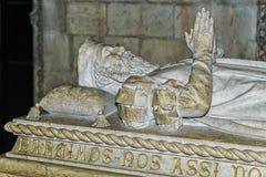 Lisabon PORTUGALIYA-SEPTEMBER 9 :最伟大的口岸的石坟茔 免版税库存照片