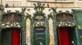 Lisboa Animatografo hace Rossio foto de archivo libre de regalías