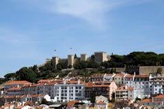 Lisboa - Castelo de Sao Jorge Imagens de Stock Royalty Free