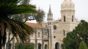 LISBOA, circa 2018: Monasterio de Jeronimos o monasterio de Hieronymites Lisboa es capital westernmost continental del ` s de Eur metrajes