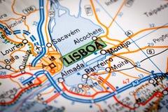 Lisboa City Royalty Free Stock Photography
