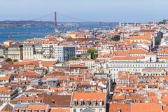 Cityview of Lisboa stock photography