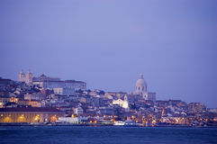 Lisboa da baixa Fotografia de Stock