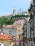Lisboa da baixa, Portugal Imagens de Stock Royalty Free