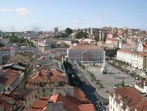 Lisboa da elevação Foto de Stock Royalty Free
