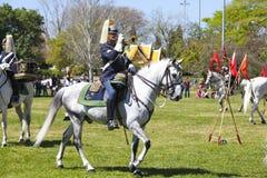 LISBOA - 16 DE ABRIL: O protetor em mudança Ceremony Foto de Stock Royalty Free