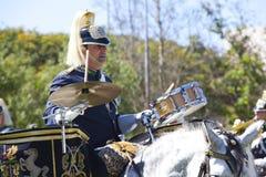 LISBOA - 16 DE ABRIL: O protetor em mudança Ceremony Foto de Stock