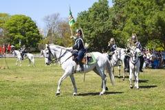 LISBOA - 16 DE ABRIL: O protetor em mudança Ceremony Imagem de Stock Royalty Free