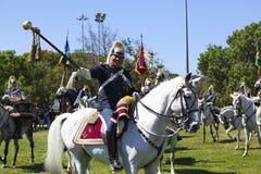 LISBOA - 16 DE ABRIL: O protetor em mudança Ceremony Fotos de Stock Royalty Free