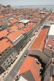 Lisboa de arriba, Portugal Imagen de archivo