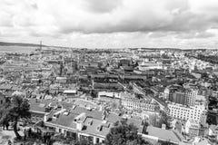Lisboa de Castelo de Sao Jorge (Portugal) Fotografía de archivo