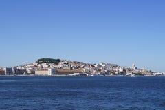 Lisboa de la playa Fotos de archivo