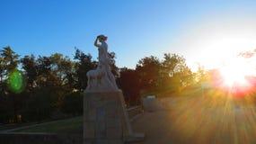 Lisboa e o sol fotos de stock royalty free