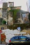Lisboa, edificios abandonados/descuidados Foto de archivo libre de regalías