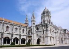 Monasterio de Lisboa Jeronimos Foto de archivo libre de regalías