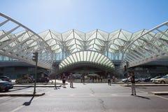 Lisboa, estación de Oriente fotos de archivo libres de regalías