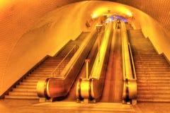 lisboa gångtunnel Arkivbilder