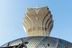A Lisboa grande, Macau Fotos de Stock