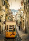 Lisboa kolor żółty Fotografia Royalty Free
