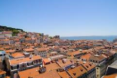 Lisboa landscape Royalty Free Stock Image