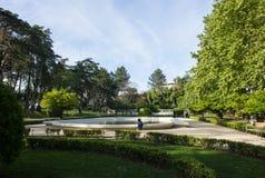 Lisboa, Lisbon, old Lisbon, Santa Clara Park, at Ameixoeira village, Lisbon, Portugal. General view of Santa Clara Park, small garden from XVIII century inspired Stock Images