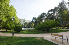 Lisboa, Lisbon, Portugal, Santa Clara Park in the Eastern area of the city. General view of Santa Clara Park, a park from the XVIII century inspired in Royalty Free Stock Image