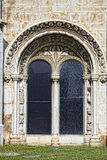 Lisboa - monastério de Jeronimos do detalhe Fotos de Stock